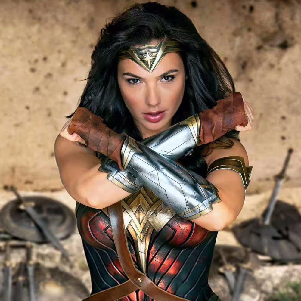Bracelete Cosplay Mulher Maravilha Wonder Woman Gal Gadot R