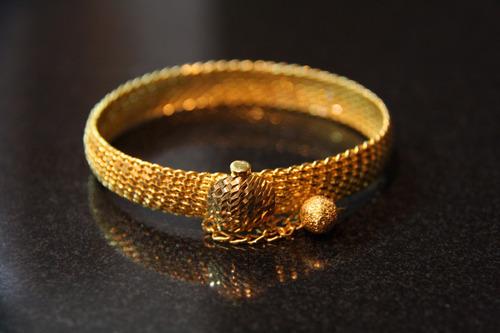 bracelete de ouro 22k