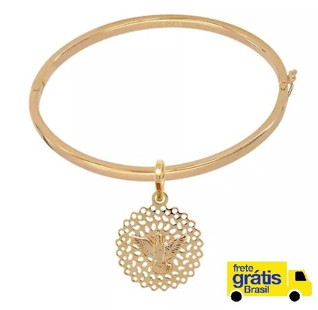 a29124935 Bracelete E Medalha Espírito Santo Bruna Semijoias Silber - R$ 254,99 em  Mercado Livre