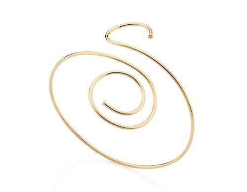 bracelete espiral 7,0 cm rommanel 551307