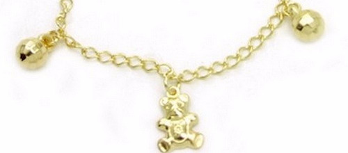 bracelete feminina ouro