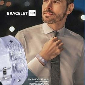 Bracelete Magnetico Niponflex 2 Fir Promoção Saude  Pulseira
