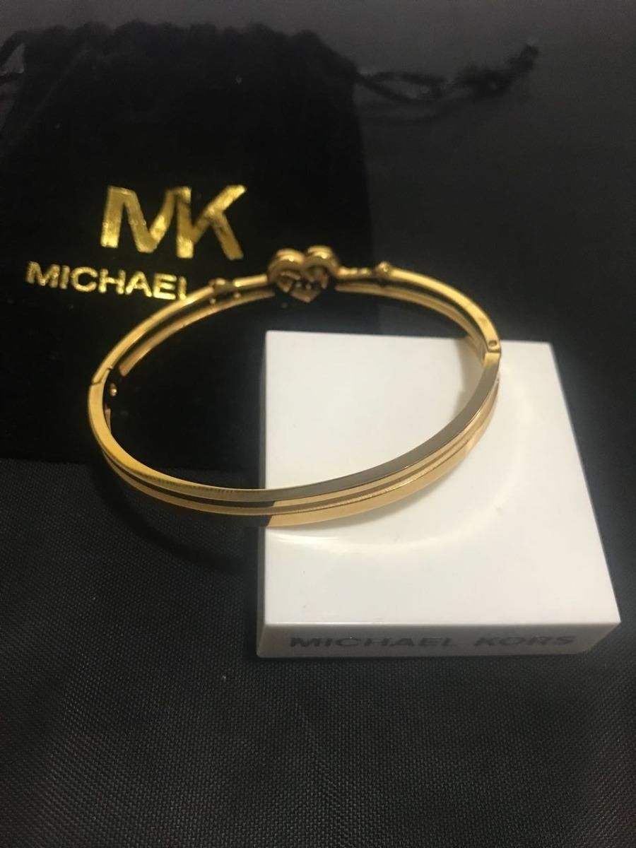 348a65c71 bracelete michael kors coração dourado original já no brasil. Carregando  zoom.
