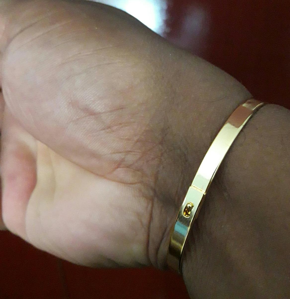 Bracelete Ouro Masculino Pronta Entrega - R  59,99 em Mercado Livre a839111124