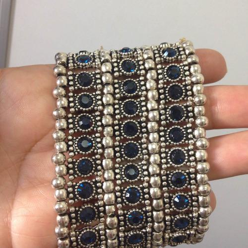 bracelete prata pulseira