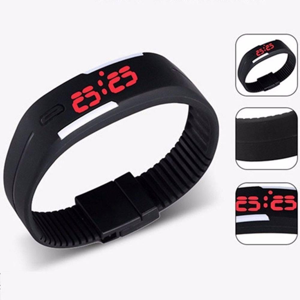 316648dd2b3 bracelete relógio masculino fem digital led promoção barato. Carregando  zoom.