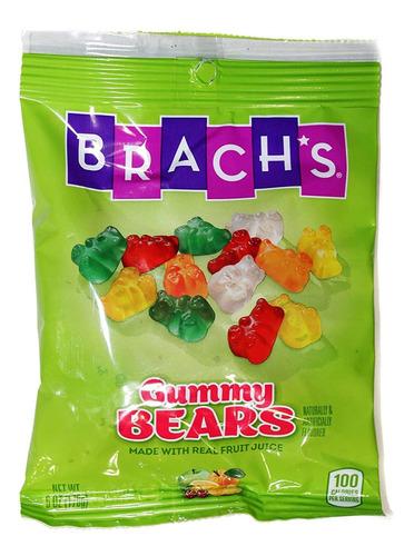 brachs gomosa de los osos y los gusanos de goma - 2 paquetes
