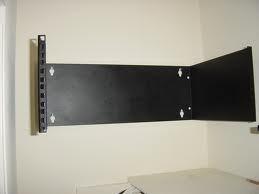 bracket de pared 2 unidades de rack