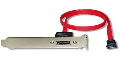 bracket soporte conector externo esata para pc de escritorio