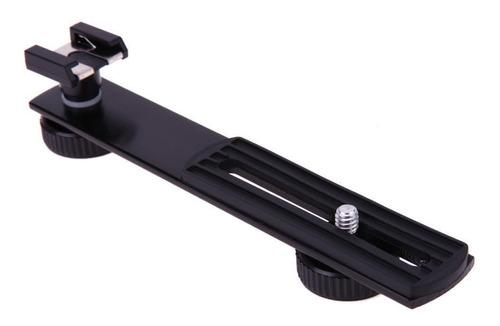 bracket soporte lineal para flash lampara