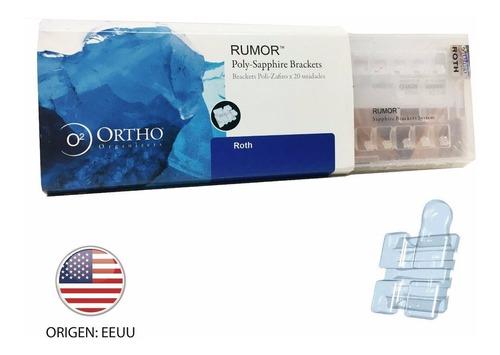 brackets estético zafiro neo crystal - ortho organizers usa