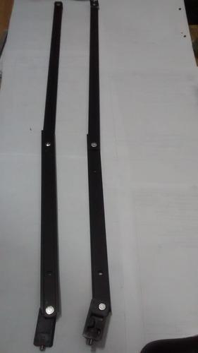 braço alum preto 750mm bra 703 c/ 06 peças