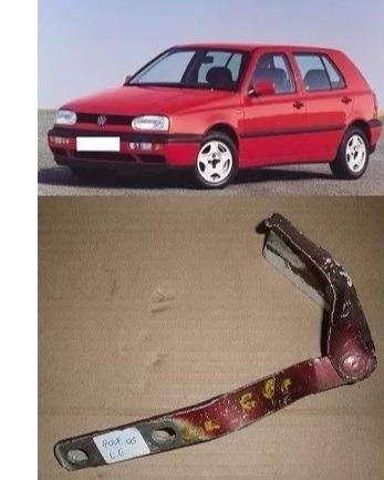 braço dobradiça capo golf 1995 1996 1997 esquerdo original