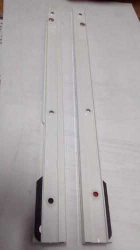braço leve alumínio branco 320mm 699eb/ab321 o par
