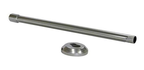 braço para chuveiro 40cm aluminio gomes garcia
