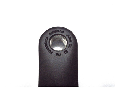 braço pedivela esquerdo shimano fc-2200 170mm preto .