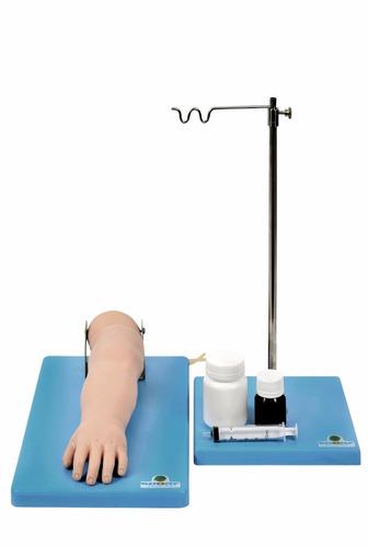 braço treino de injeção infantil venoso enfermagem anatomia