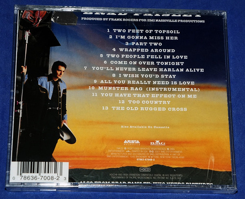 brad paisley - part ii - cd - 2001 - usa - lacrado