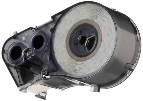 brady mc-750-595-yl-bk vinilo b-595 cartucho de rotulador