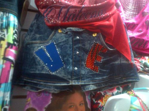 bragas falda short de jeans para niñas hermosas
