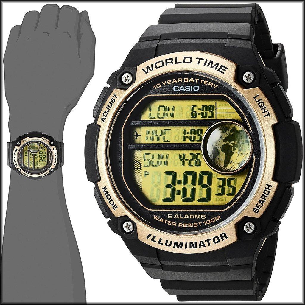 d0313142065 Brago - Reloj Casio Ae-3000w-9av -   36.700 en Mercado Libre