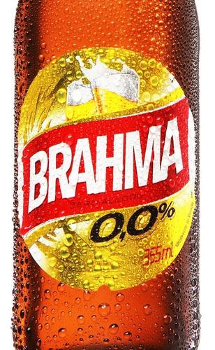 brahma chopp zero long neck - 355ml - unidade