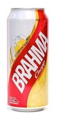 brahma lata 473ml, x6unidades - berlin bebidas