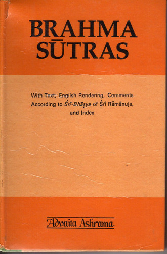 brahma sutras according to ramanuja translated english yoga