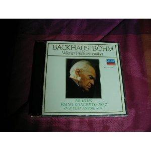 **brahms **piano concerto no. 2 **backhaus bohm **cd