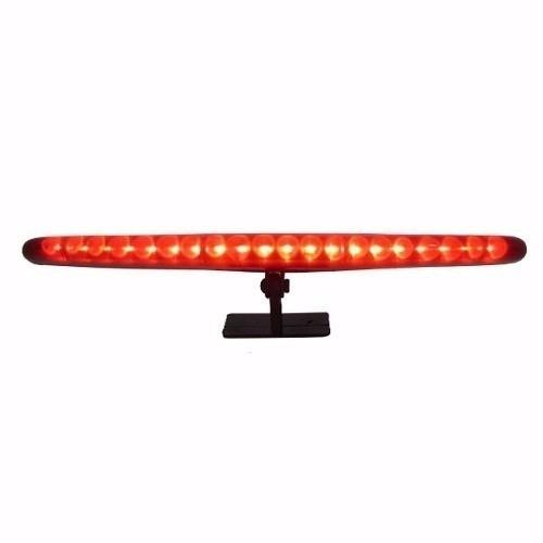 brake light luz de freio auxiliar vermelho 20 leds 26cm 12v