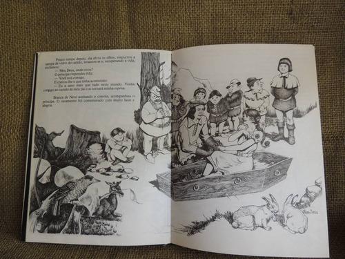 branca de neve irmãos grimm ilustr iara souza 1985 ed kuarup