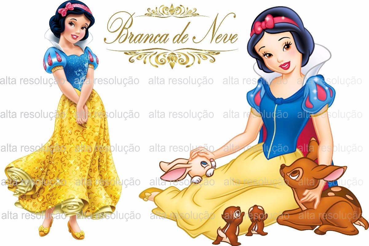 Branca De Neve Vetor Kit Digital Imagens Png R 20 00 Em Mercado