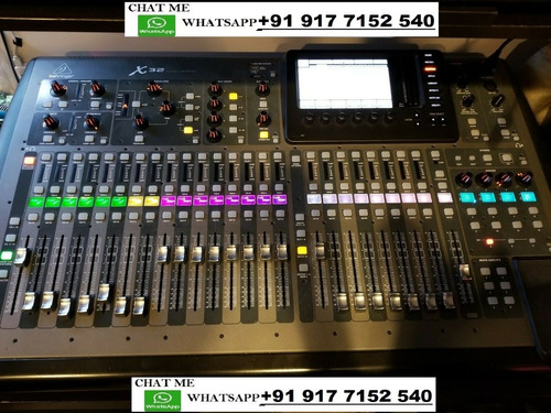 brand new behringer-x32-compact-digital-mixer