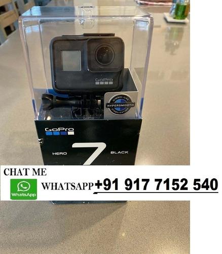 brand new gopro hero 7 black - 12mp - 4k action camera