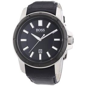 a023daf9 Brand New Hugo Boss Men.s Black Dial Black Band Watch 151292
