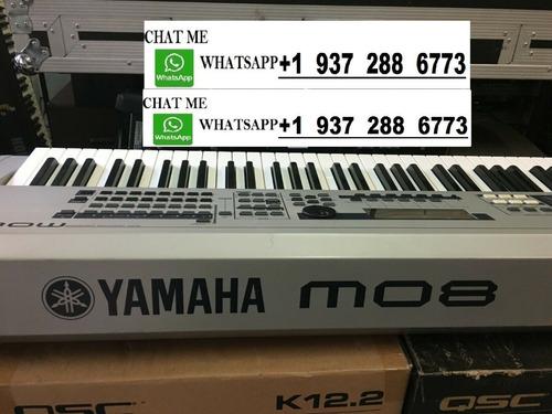 brand new yamaha motif xf8 88 key piano keyboard synthesizer