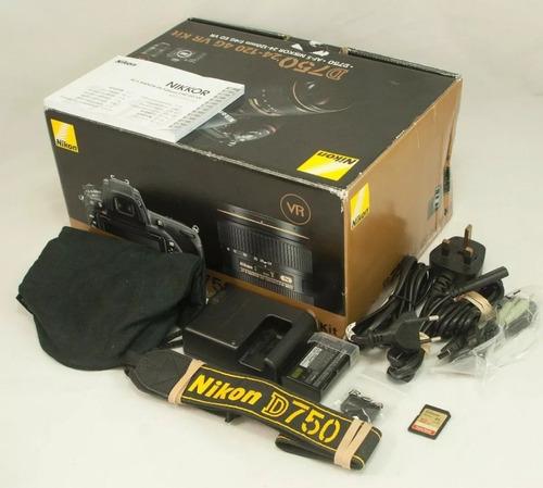 brand nuevo nikon d750 digital camera 24-120mm lens 4k views