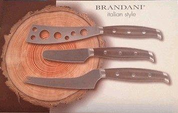 brandani italiano estilo 3 piezas de queso cuchillo regalo s