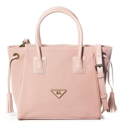 brandon 2 cartera rosa cartera xl extra large mujer