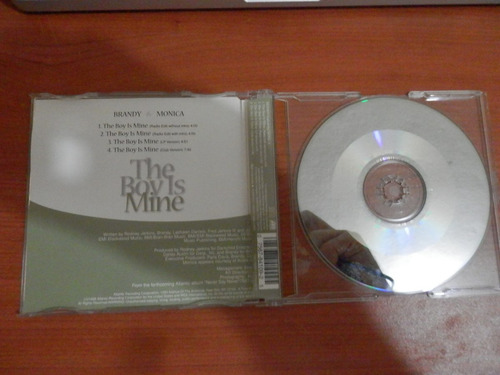 brandy monica the boy is mine cd slimline jewel case