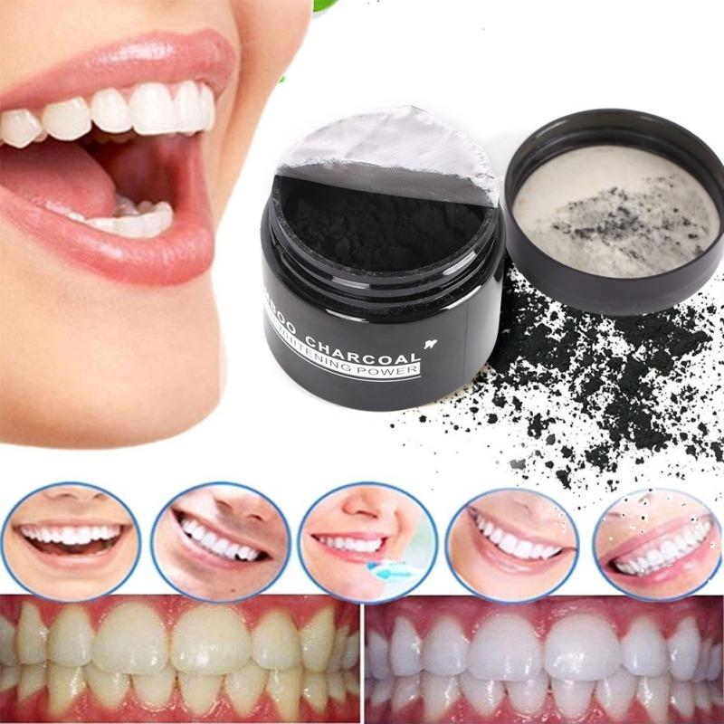Branqueador Dentes Carvao Em Po Ativado Profissional Natural R 24