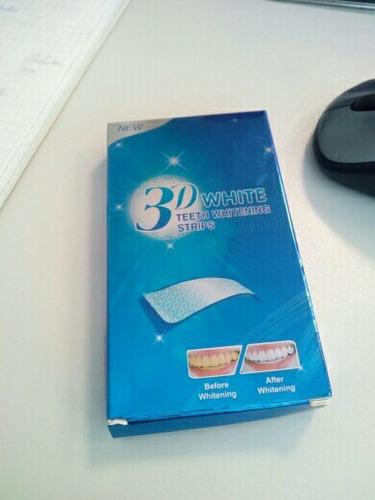 branqueador ultra clareador dental 28 fitas 3d white