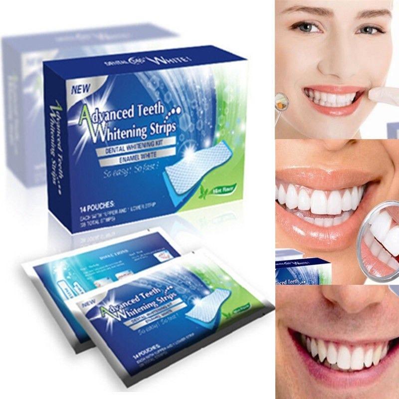 Branqueador Ultra Clareador Dental 28 Fitas Whitestrips Pro R 29