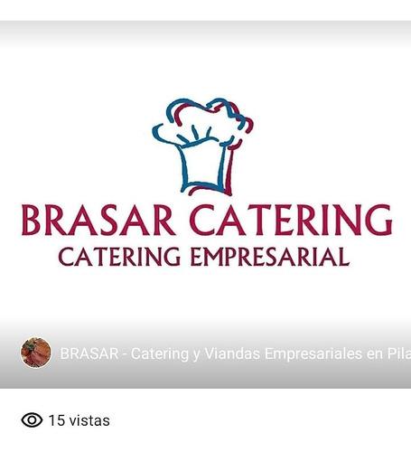 brasar catering viandas para empresa, oficinas, escuelas...