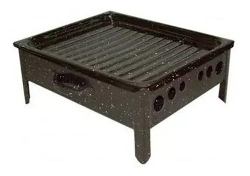 brasero enlozado lozafer de mesa para asado achuras