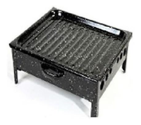 brasero jovifel de mesa enlozado 25 x 33cm  #ok