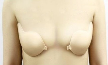 brasier autoadherible strapless