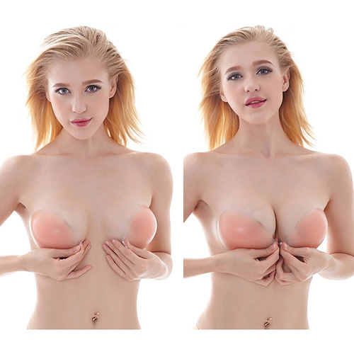 brasier silicon strapless magic bra push up invisible