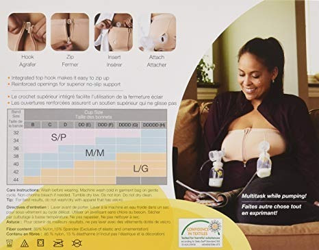 brasier sujetador lactancia maternidad piel talla l medela