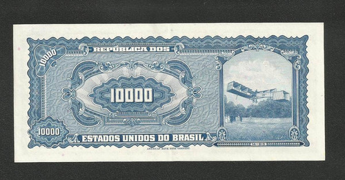 brasil 10 cruzeiros novos c124 s/fe cédula - tchequito